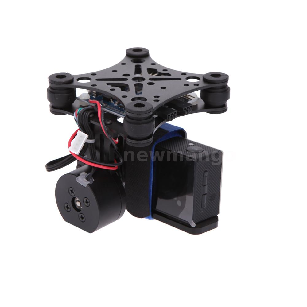 Cnc brushless gimbal camera mount with motor controller for Motorized video camera mount