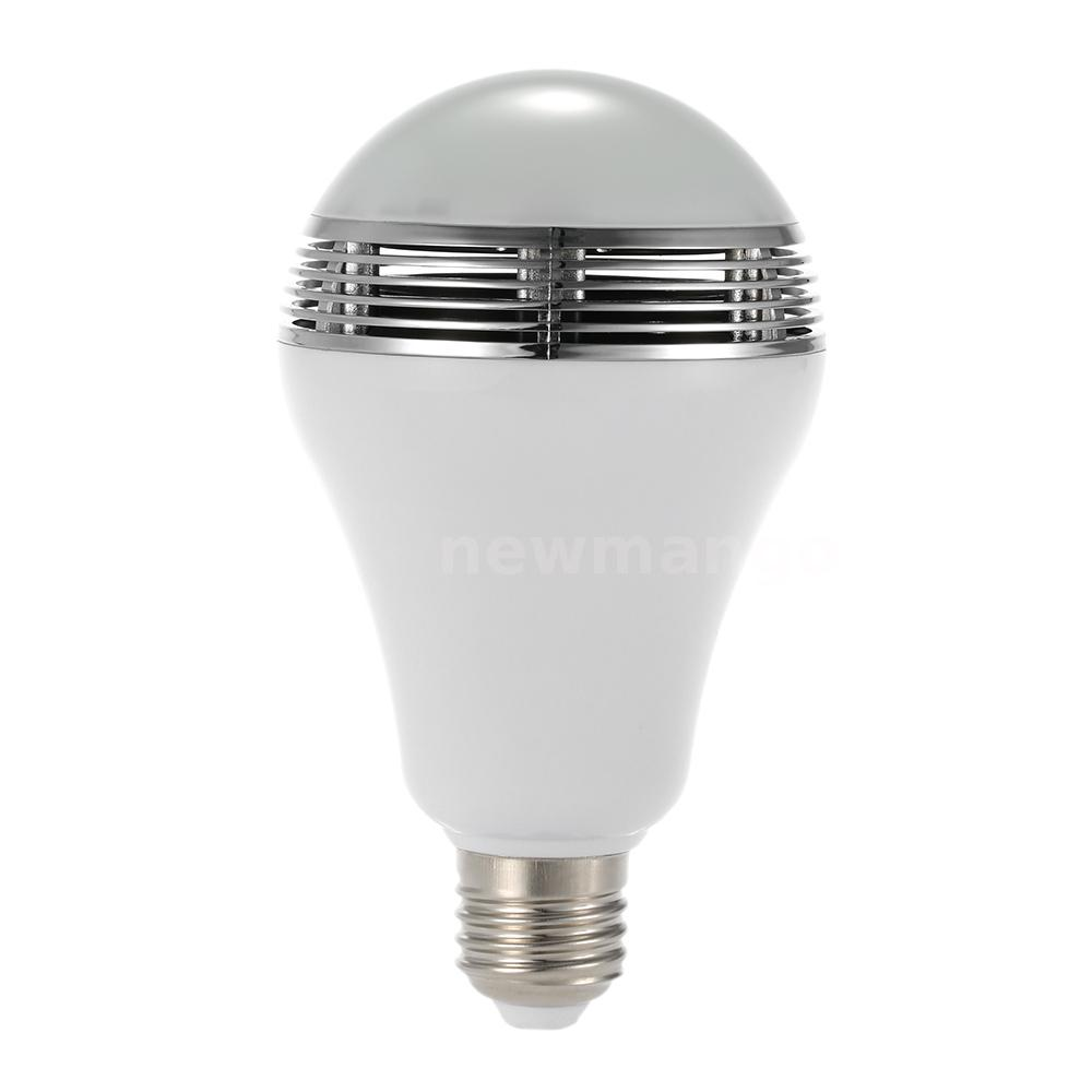 E27 bluetooth bulb with speaker light and illusion for Bluetooth bulb