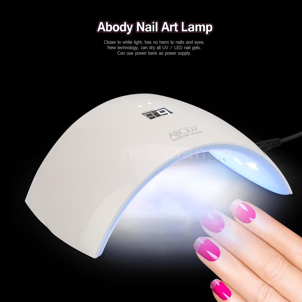 abody pro 24w led uv lampe nagel trockner gel aush rten nagel malwerkzeug k4s0 ebay. Black Bedroom Furniture Sets. Home Design Ideas