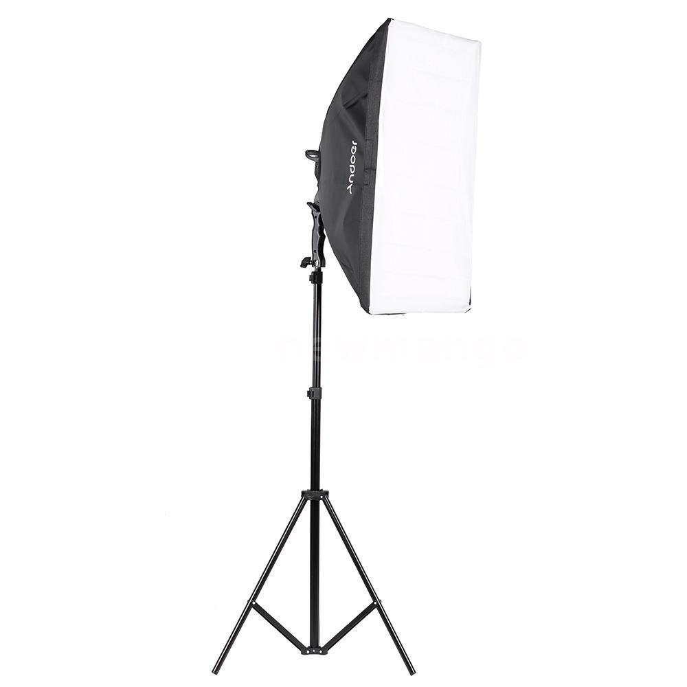 Light Stand Ebay: Andoer Umbrella Softbox/ Light Stand/ Bulb LED Photography