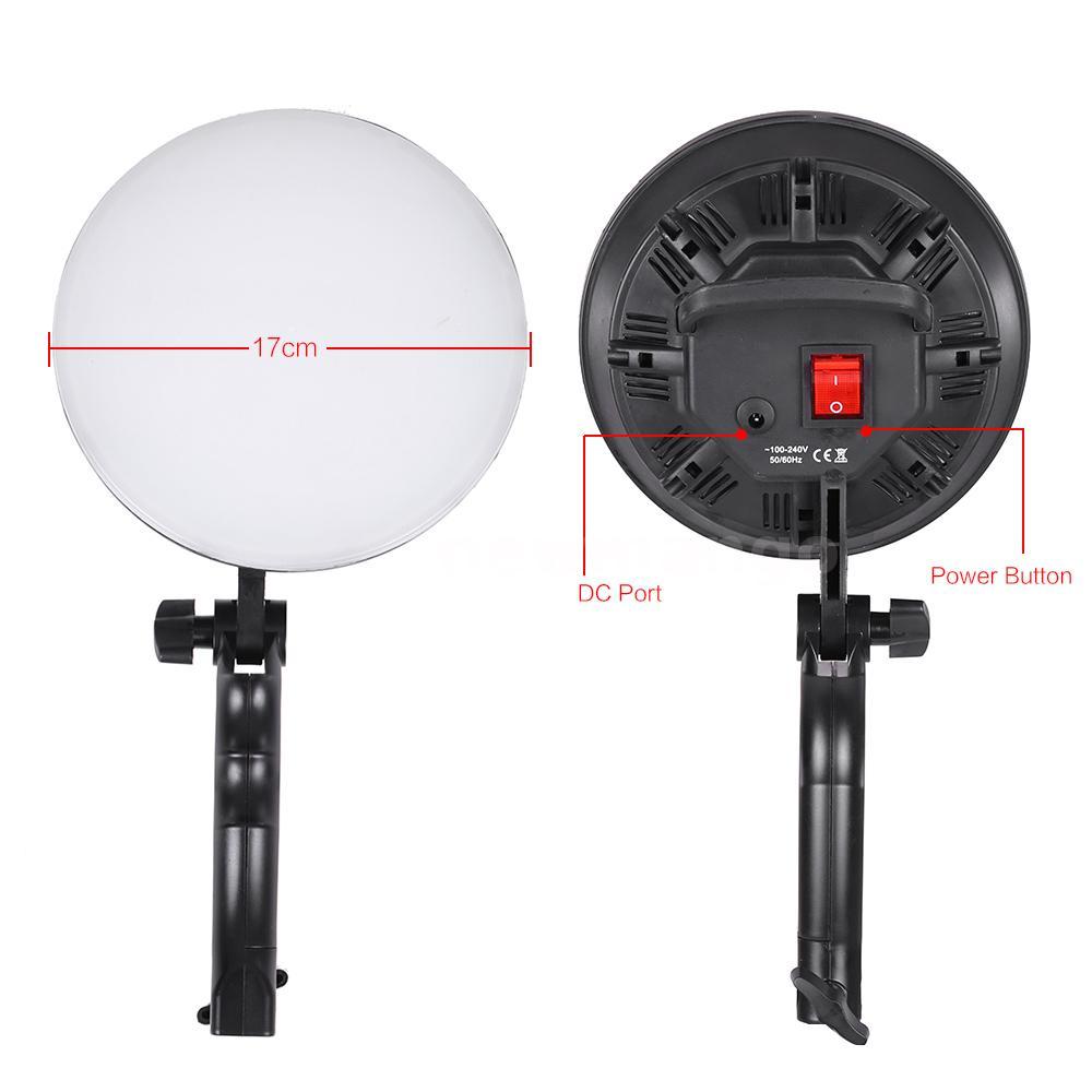 Andoer Umbrella Softbox/ Light Stand/ Bulb LED Photography