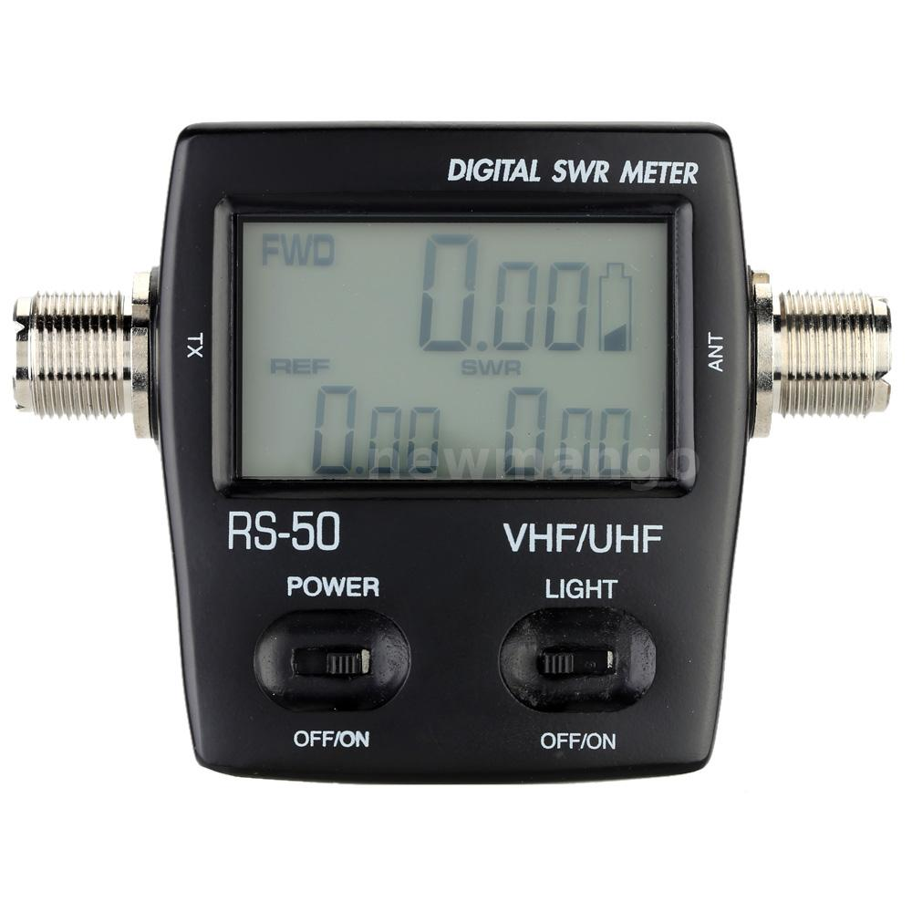 Digital Swr Power Meter : Digital swr standing wave ratio power meter for ham uhf