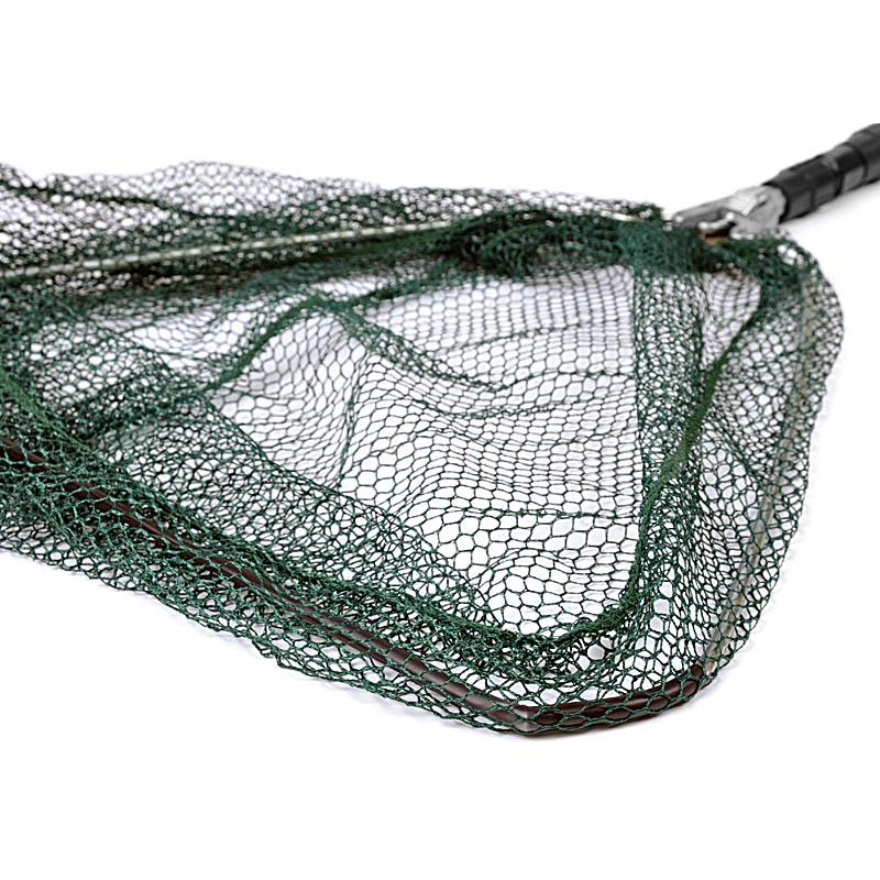Folding fishing landing net triangular 35cm for Collapsible fishing net