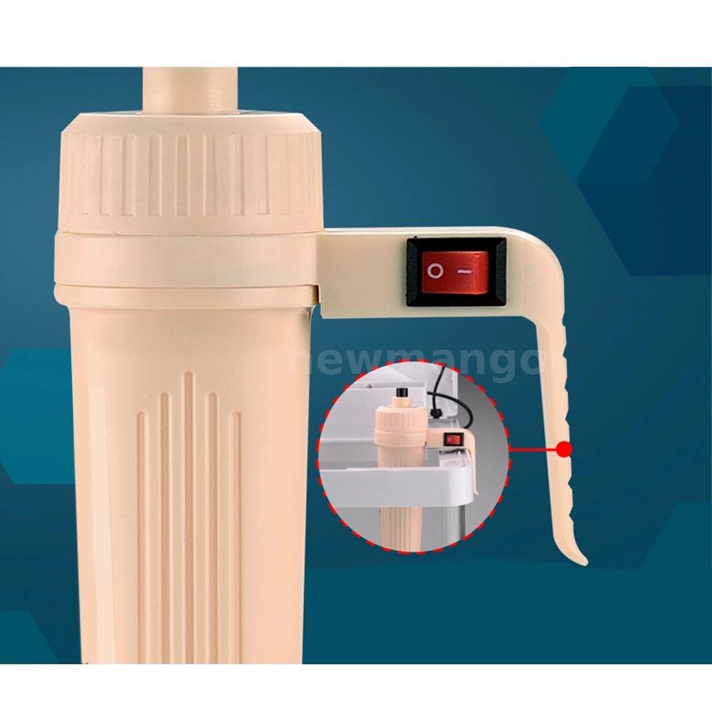 Aquarium battery powered fish tank vacuum gravel water for Fish tank water filter