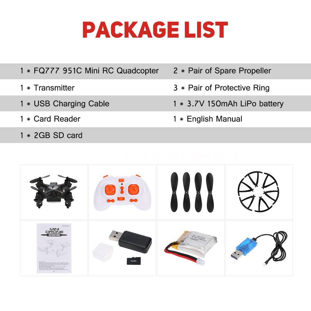 Best Fq777 951c 24ghz 4ch 6 Axis Gyro 03mp Camera Mini Rc 2gb The Adopts 24g Frequency Technology It Can Realize Headless Mode And 3d Flip Built In Six Will Promise You A Stable Flight