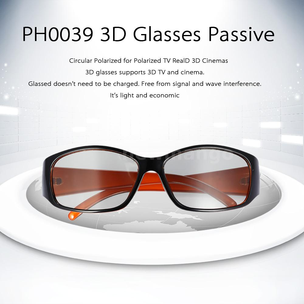 3D Glasses Passive Circular Polarized For SHARP SAMSUNG