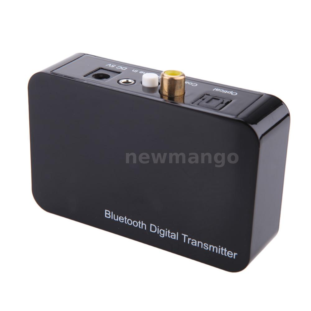 Wireless Bluetooth Digital Audio Transmitter Optical Coaxial for TV Blu-ray DVD | eBay